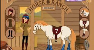Horse And Barbie Lady In Red – Barbie Make Up And Dress Up Games For Girls  Baby Ewa Games